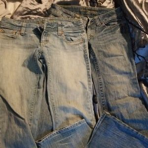 EUC Bundle of American eagle jeans!